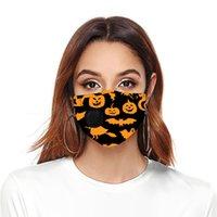 2020 máscaras de Halloween máscara de diseño de venta de moda personalizada impresiones personalizadas válvula de respiración máscaras contra el polvo respirable anti-niebla y bruma