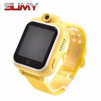 Slimy Wifi 3G Baby Smart Watch Q730 Kamera GPS-Standort Touch Screen-Tracker für Kinder Safe Child SOS-Monitor für iOS Android
