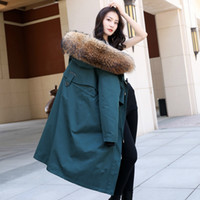 OFTBUY 2020 waterproof new real fur parka winter jacket women natural raccoon fur collar hood fox fur liner slim thick warm T200907