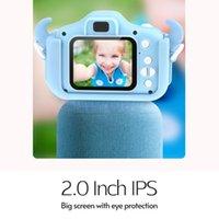 """Camera mini macchina fotografica digitale bambini Bambini 1080P Video Camcorder 20MP 2.0"""" IPS Dual Screen Lenti + Batteria per ragazzi ragazze"""