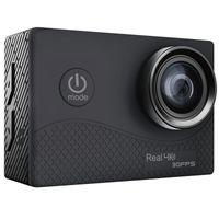 Q6H Ultra HD 4K Eylem Kamera 2 İnç TFFT İletişim Sn WIFI Su geçirmez DVR Dahili Çift ISS 30fps 1050mAh batarya 1080Pm