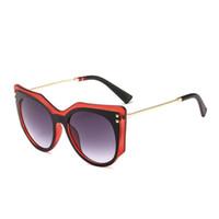 Солнцезащитные очки Vescion Женщины Cateye Brand Дизайнер Негабаритные Солнцезащитные Очки Для Женщин Элегантная Роскошная Винтаж Большой Украшение лица