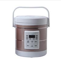 طباخات الأرز 1.6 لتر طباخ يستخدم في السيارة والشاحنة 12 فولت إلى 24 فولت كافية لشخصين ثلاثة