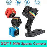 SQ11 미니 카메라 HD 1080P 720P 주간 비전 미니 캠코더 액션 카메라 DV 비디오 음성 레코더 마이크로 스포츠 카메라 야외 사이클링