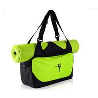 Gros- yoga sac fourre-tout sport imperméables à l'eau de haute qualité Voyage gymnase sac à dos et exercices Pilate