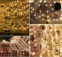 2020 LED Lights Flashing Lights Festive Decoration Christmas Wedding Outdoor Waterproof Colorful Color Changing Star Lights String Wholesale