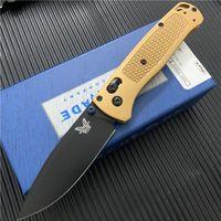 """Qualidade Benchmade BM 535S Bugout Axis Faca Dobrável 3.24 """"S30V Blade Lâmina Plana TC4 Punho BM940 BM42 A07 BM535 Knifes"""