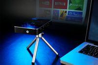 P3 프로젝터는 7.1 상자를 안드로이드 50 ANSI 루멘 DLP 미니 포켓 프로젝터 1기가바이트 8기가바이트 RK3128 MINI 미디어 플레이어