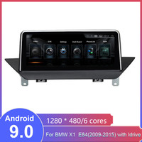 "10.25 ""BMW X1 E84 2009-2015 라디오 오디오 스테레오 MP5 플레이어 블루투스 WiFi Mirrorlink No Car DVD No Touch Android 9.0 자동차 GPS 네비게이션"