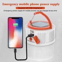 5 modos sem fio Camping Lâmpada Solar Universal Lanterna impermeável ao ar livre Jardim 24LEDS Ergonomic 3 Em 1 de suspensão portátil