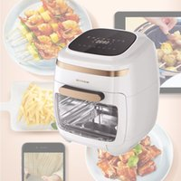 Início Intelligent LCD Touch Air Fryer Visible Air Fryer Forno Elétrico 11L grande capacidade Air Fryer 2000W
