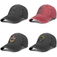 Hommes Femmes Guns N « Roses sauvé la vie de la mode Denim Casquette de baseball cool Lavé chapeau de papa réglable Affiche vintage de boule crâne 85 Rose » Out