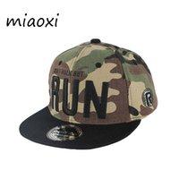 Caps miaoxi Brand New dell'esercito di verde di modo del bambino Berretto da baseball scherza il cappello corsa per i Ragazzi Ragazze casual Bonnet unisex di Hip Hop Gorros