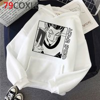 Anime Hunter x Hunter Killua Streetwear Hisoka Graphic Sweatshirts Tops Unisex Male hoodies male harajuku hip hop plus size men hoddies