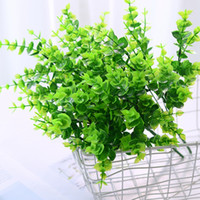 10 Pcs Artificial Farmhouse Greenery Boxwood Shrubs Stems fo...