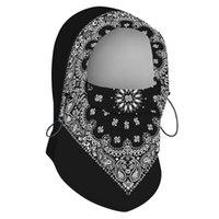 Outdoor Thermal Warm 6 in 1 Balaclava Hood-Kapuze Swat Bike-Kappe Radfahren Fleece-Skifahrrad Schal Windstopper-Maske Hüte