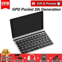 GPD bolso 2 Pocket2 7 polegadas Mini Laptop Tablet PC Windows 10 de 64 bits Intel Core m3-7y30 Notebook 8GB / 128GB 2.4G 5G WiFi BT 4.1