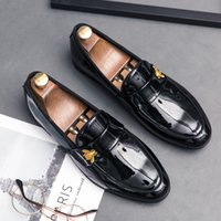 CIMIM 브랜드 남성 비즈니스 패션 캐주얼 가죽 신발 이탈리아 편안한 럭셔리 정장 구두 새로운 큰 크기 남자 사무실