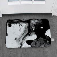 Подушка / декоративная подушка ретро ручная роспись заката Doormat кухня спальня нескользящая украшение мультфильм пола супер мягкий фланелевый ковер