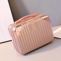 2020 새로운 스타일 가방 여성 작은 화장품 가방 등 휴대용 여행 가방 미니 귀여운 레이디 화장품 핸드백