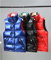 남자 디자이너 다운 조끼 브랜드 겨울 복어 재킷 캐주얼 후드 파카 따뜻한 스키 남자 조끼 M001