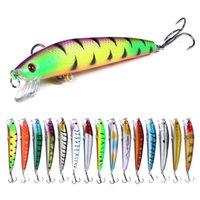 HENGJIA 105pcs Minnow Fishing Lures 14.5CM 17.6G 145mm 5.7inch 0.62OZ baits Crank lures fresh water swimbait