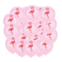 Pacote de 20 Hawaiian Tropic Flamingo Látex Balões Verão Beach Luau Party Decor 10 polegadas