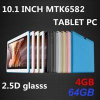 2020 고품질 10.1 인치 MTK6582 2.5D 유리 IPS 용량 성 터치 스크린 듀얼 SIM 3G GPS 태블릿 PC
