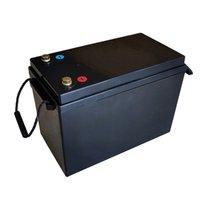 Tekne golf arabası güneş sisteminin elektrik motoru için 120A BMS ile 12.8V lityum LFP lifepo4 lifepo4 12v 200AH pil