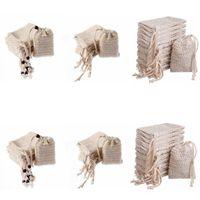 الصابون حقيبة صنع فقاعات توفير كيس الحقيبة تخزين الرباط أكياس الجلد سطح القطن الكتان تنظيف الرباط حامل حمام اللوازم YL24