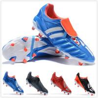 2020 Predator Mania FG Futbol Ayakkabı Satılık 2020 Beckham Futbol Ayakkabı Futbol Çizmeler Futbol Kelepleri FG Kapalı Çim Kingcaps Eğitim Sneaker