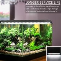 20W 129 Planta de acuario Cultivo LED LED LED LED Agua Lámpara de hierba Agua 35.43 pulgadas Aquarium Lámpara de luz