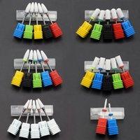 Nagelkunstausrüstung Die meisten komplett gestaltete 27 Typ Keramikbohrer für elektrische Maschinen-Maniküre-Zubehör-Fräsen-Fräser-Datei-Tool