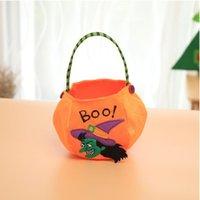 Хэллоуин конфеты мешок украшения матерчатые мешки для детей портативный тыквы мешок мешок подарка Halloween реквизит аксессуары поставок