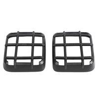 Wrangler JL 18-20 Black ABS Kuyruk Işık Lambası Kapak Trim Dekor Çerçeve
