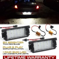 2Pcs Error Free LED License plate light For Kia Soul 2 AM Ki...