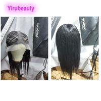 Capelli umani della Vergine malesiana a forma di T 13 * 6 parrucca Body Wave Dritto Onda profonda Kinky Ricci Style T Style 13x6 Parrucche 10-26 pollici