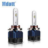 MdaNew 5200lm Headlight Car LED Head Lamp H8 H9 H11 9005 9006 3 4 H7 H4 Hi Low Beam fog light lamp for motorcycle