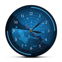 Duvar Saatleri Mavi Radar Ekranı Harita Saati Hedefler Ev Sanatları Hava Ordusu Suikast Dekoratif İzle