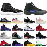 Jumpman 11'ler 25. Yıl Yüksek OG Basketbol Ayakkabı 4s Üst Erkek Eğitmenler 12s Birliği Albüm 5s Alternatif Üzüm 13s 10s Spor Sneakers 1s