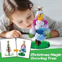 زينة عيد الميلاد الديكور هالوين شجرة شجرة ماجيك تزايد لعبة بنين بنات الجدة هدية 10 ملليلتر أشجار الدماغ الإجهاد الإغاثة