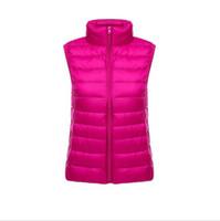 Женские жилеты дизайнер зимние без рукавов повседневные пальто куртки Slim Fit Awarts мода теплые женские одежды