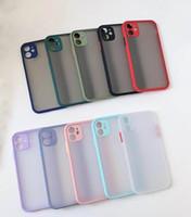 iPhone 11 pro max XR XS Max Vaka yerçekimi karşıtı düşmek Huawei P40 için Darbeye Arka Kapak yanlısı Mate30 için Cilt Scrub Şeffaf Telefon Kılıfları