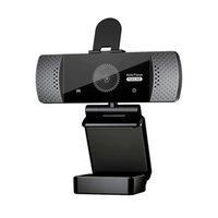 Bilgisayar için Mikrofon 1080P Otomatik Odaklama 2 Megapiksel USB Streaming Web Kamera ile HD Web Kamerası