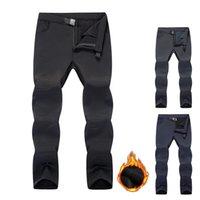 Outdoor-Hosen Pantalones Softshell de lana Termica InvierNo 2021 Para Hombre, Senderismo, Camping Pescar