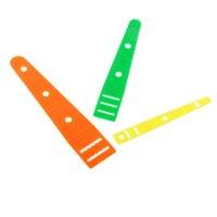 3 Размеры ассорти Пластиковые резьбы Wear Резинка инструмент Elastic Threader Скользит Guides DIY Needleworking Швейные принадлежности