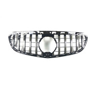 W212 ABS Material GT Style Racing Grilles for E Class180 2014-2016 Replacement grille bumper grill