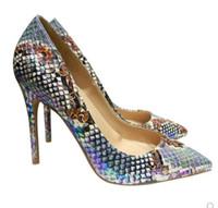 2020 새로운 장 바느질 화이트 굽 높은 굽 신발 팁-에 얇은 굽 여성의 단일 신발 10cm 12cm 8cm 대형 45 나이트 클럽 댄스