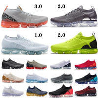Nike Air Max Flyknit Utility Laufschuhe Strick Multi-Color Real Quality Zebra Team Red Orbit Volt Racer TN Plus-Trainer Turnschuhe 7-12
