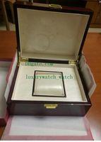 New Nautilus Watch Original Box Papers Tarjeta de madera Cajas de regalo Bolso 20 * 16 cm para Aquanaut 5711 5712 5990 5980 Swiss 7750 Relojes Cajas